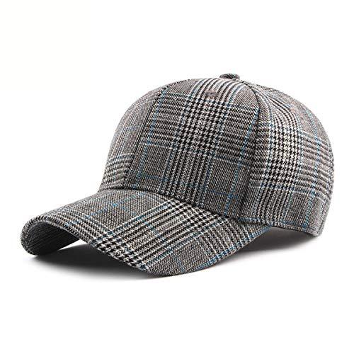 Primavera Verano Visera B Moda béisbol de señora qin Sombreros Hombre Informal Gorra de y Gorra Cuadros GLLH hat A Sombreros de WqwYPUaU8