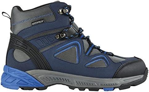Crivit - Zapatillas de Senderismo para Hombre Blau-Grau-Schwarz, Color, Talla 42: Amazon.es: Zapatos y complementos