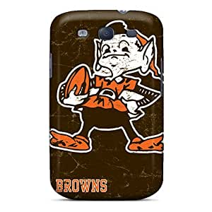 Galaxy S3 Case Slim [ultra Fit] Cleveland Browns Protective Case Cover
