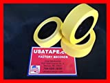 32 Rolls 1 1/2'' X 60 Yrds Fine Edge Yellow Painters Masking Tape