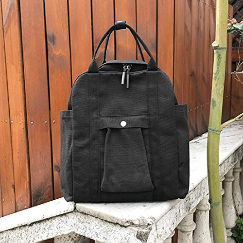 De Capacité À Léger Black Pour Grande Dos Popularité Sac Les color Waveni Black École Femmes Sacs Populaire wYqUTIx