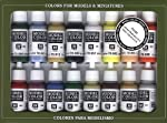 Vallejo Basic USA Colors Paint Set, 17ml from MMD Holdings, LLC