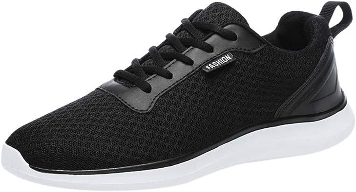 Nebwe Men's Work Shoes Steel Toe Shoes