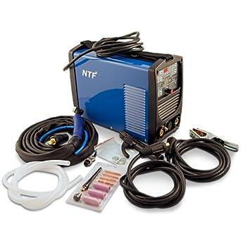 TIG E-mano Inverter de soldadura dispositivo NTF TIG200PD: Amazon.es: Industria, empresas y ciencia