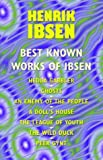 Best Known Works of Ibsen, Henrik Ibsen, 0809515709