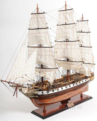 XL USS Constellation Frigate Wooden Tall Ship Model 56