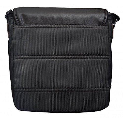 Hugo Boss Men's Hugo Boss Orange Men's Dark Green Ralon Shoulder Bag 25 x 27 x 8.5 cm approx