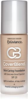 product image for Exuviance CoverBlend Skin Caring Foundation SPF 20, Blush Beige, 1 oz