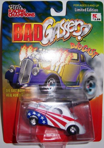 Racing Champions Bad Gassers - 1941 Willys Coupe Gasser Limited Edition
