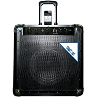 TUNES2GO GA11080 Portable PA System and Guitar Amplifier