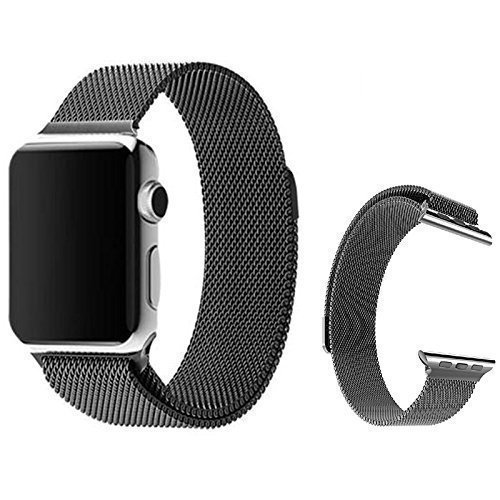34 opinioni per Per Apple Watch- Cinturino Trop Saint®- Maglia Milanese (38mm) con Magnete di