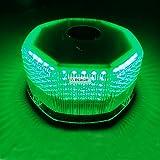 Wecade® NEW Bright 240 LED Truck Vehicle Car Roof Top Flash Strobe Emergency Warning Hazard Warning Light (Green)
