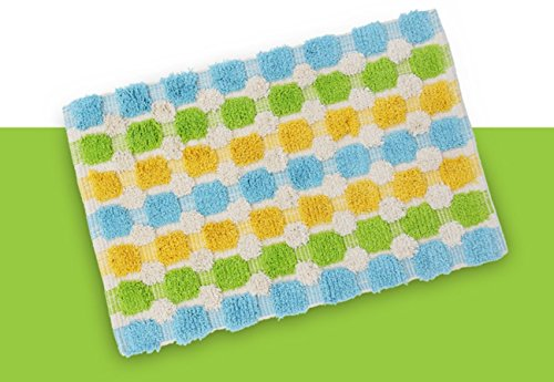 GVGs Shop 1 Sets Colorful Cotton Carpet Rug Bathtub Mat Kids
