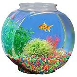Koller Products 1-Gallon Fish Bowl, Shatterproof