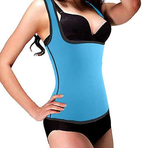 DODOING Hot Sweat Body Shaper Waist-Trimmer Slimming Shirt Tummy Waist Trainer Vest...