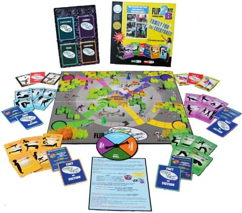 Flip2BFit Fitness in a Box Board Game