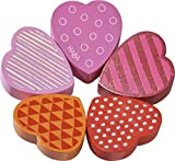 HABA Blooming Heart Wooden Clutching Toy (Made in Germany)