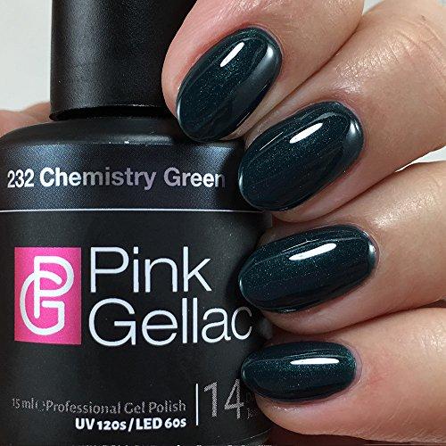 Pink Gellac #232 Chemistry Green UV / LED Gel Polish