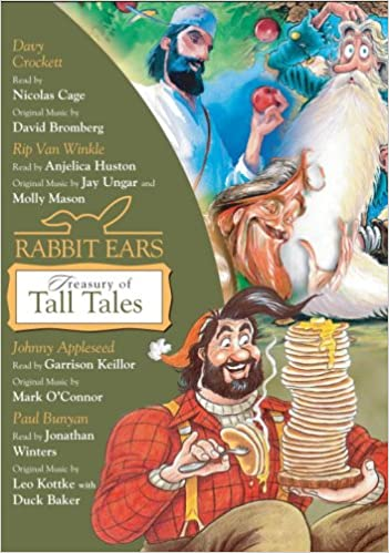 Rabbit Ears Treasury of Tall Tales: Volume One: Davy Crockett, Rip ...