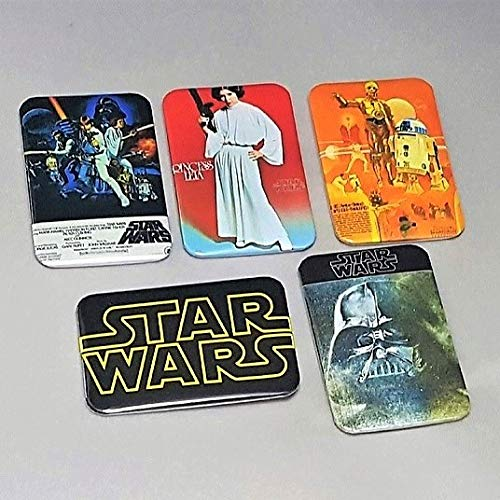 (Star Wars Movie - Star Wars Pins - Star Wars Gifts - Star Wars Buttons - Princess Leia Pin - Darth Vader Buttons - Star Wars Poster)