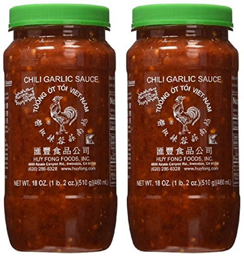 Huy Fong Fresh Chili Garlic Sauce 18 oz (Pack of - Asian Garlic Sauce