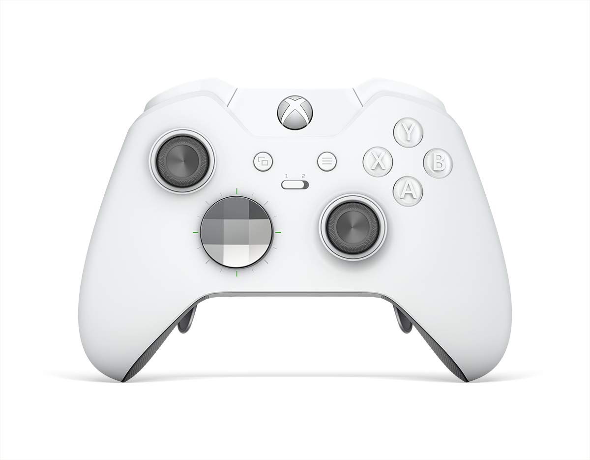 Microsoft Xbox One Elite Wireless Controller - Platinum White by Microsoft (Image #1)