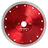7'D180mm Super Thin Diamond Ceramic Saw Blade Porcelain Cutting Blade for Cutting Ceramic Or Porcelain Tile (7')