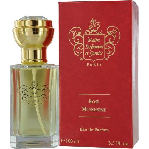 Maitre Parfumeur Et Gantier Rose Muskissime By Maitre Parfumeur Et Gantier For Women. Eau De Toilette Spray, 3.3-Ounce Bottle