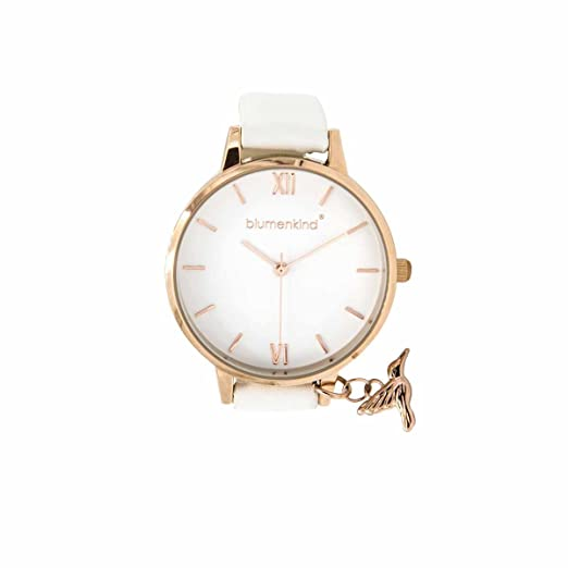 info for 2611e 9244c Blumenkind Ladies' Watch Rose Gold/White 20021988RWHPWH ...