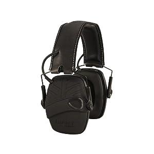 Electronic Ear Muff, Black, 3.5mm Jack