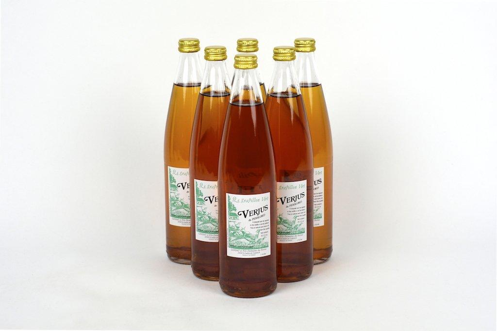 Verjus du Perigord (Green Grape Fruit Wine Vinegar) 25.3Fl.Oz Case of 6 Units - Wholesale by Domaine du Siorac (Image #3)