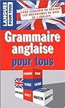La Grammaire anglaise pour tous par Hardin