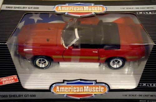 Ertl American Muscle, 1969 Shelby GT-500, 1/18