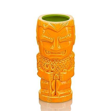 Amazon.com: DC Comics Geeki Tiki - Taza de cerámica, color ...