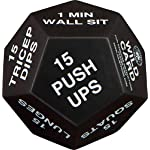 NATARIFITNESS..COM  51GPEzoVGPL._SS150_ Juliet Paige Exercise Dice for Home Fitness, Workouts, Crossfit WOD, Cardio, HIIT, and Sports