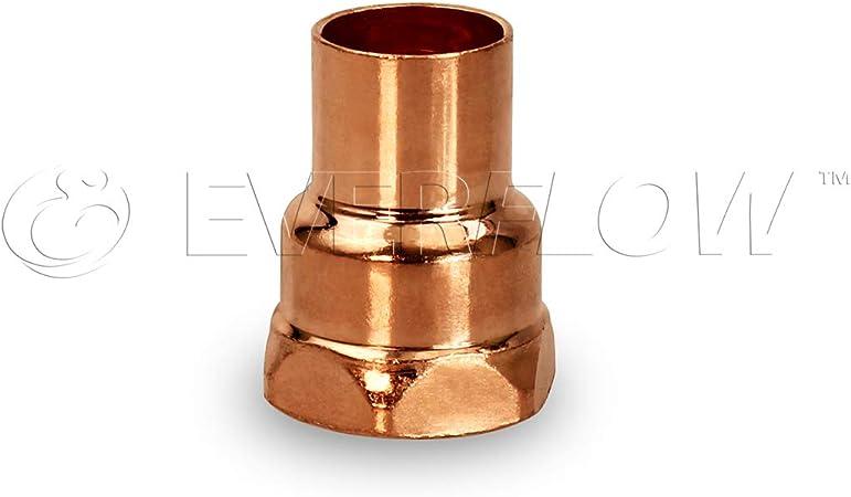 "Copper x Sweat Fitting Female Adapter 2/"" x 2/"" CxF"