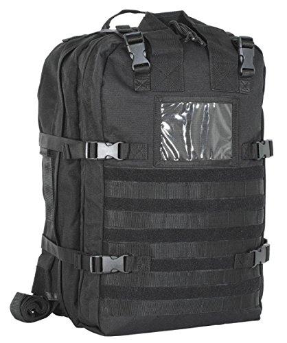 Voodoo Tactical Deluxe Professional Special Ops Field Medical Pack (Black) (Voodoo Pack)