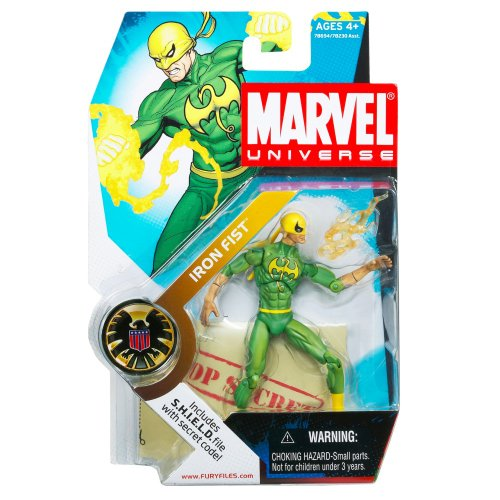 Marvel Universe Series 1 Iron Fist #17 Figure 3.75 Inch