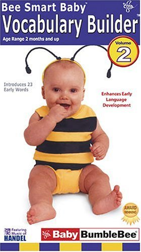 amazon com bee smart baby vocabulary builder 2 vhs fun