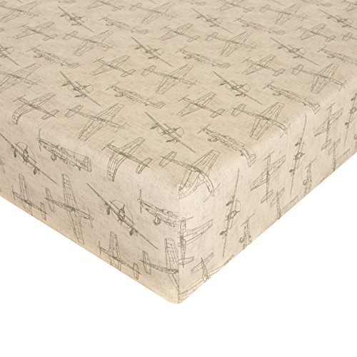 Glenna Jean Airplanes Crib Sheet Fitted 28x52x8 Nursery Standard