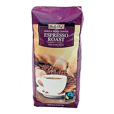 Daily Chef Fair Trade Espresso Whole Bean Coffee (40 oz.)