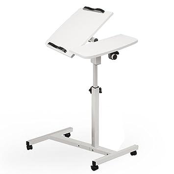 UU transporte local; Alizzee turnlift Sit-Stand funda para portátil para carrito con mesa auxiliar blanco: Amazon.es: Hogar