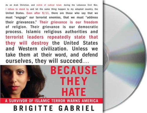 Because They Hate: A Survivor of Islamic Terror Warns America by Brand: Macmillan Audio