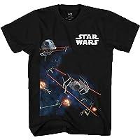 Star Wars Battle Blast Tie Fighters X-Wing Big Boys Youth T-Shirt Licensed