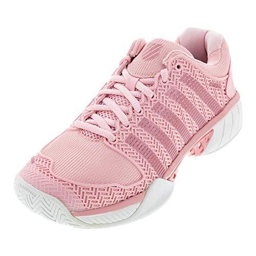 K-Swiss Women's Hypercourt Express Tennis Shoe (Coral Blush/White, 9.5 M US)