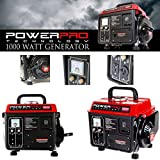 GOOD MEDIA 1000w Super Quiet Gas Powered Portable Generator Lightweight Camping RV Home NEW ✅