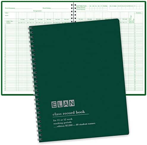 Class Record Book for 12 Weeks. 40 Names. (R1200)