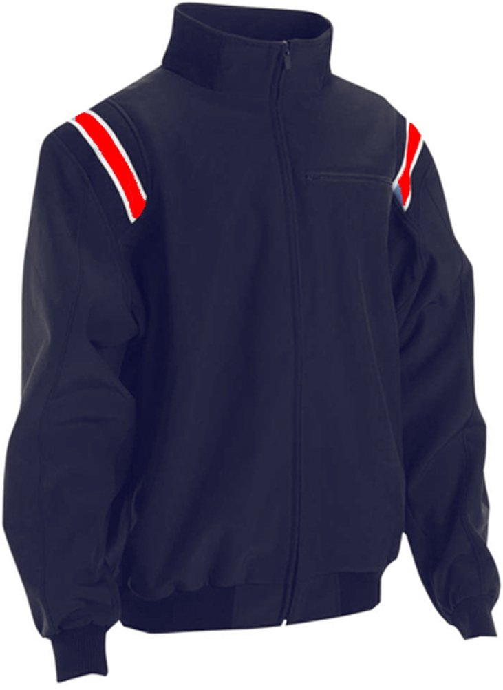 Adams USA Smitty ProスタイルCold Weather Jacket B01CPPSPQ8 XXX-Large|Navy/Scarlet Navy/Scarlet XXX-Large