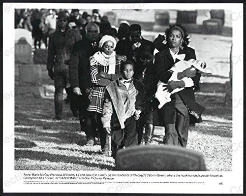 CANDYMAN-8X10 B&W PHOTO-VANESSA WILLIAMS/DEJUAN GUY FN