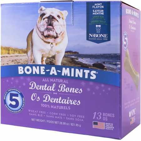 NPIC Bone-A-Mints Dental Bones - Large (13 Pack)